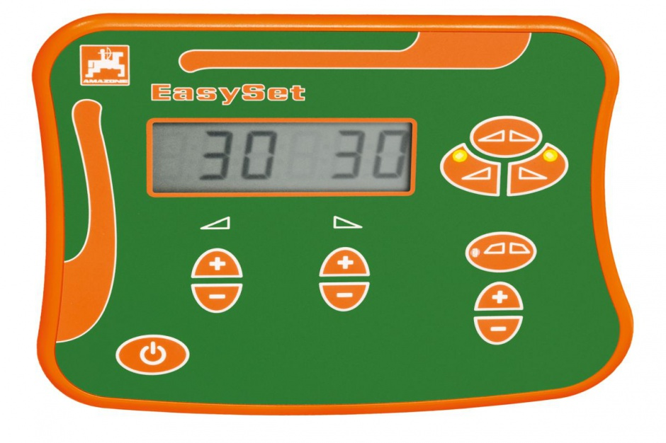 sterownik EasySet pozwala na elektryczne sterowanie funkcjami rozsiewacza, fot. prasowe