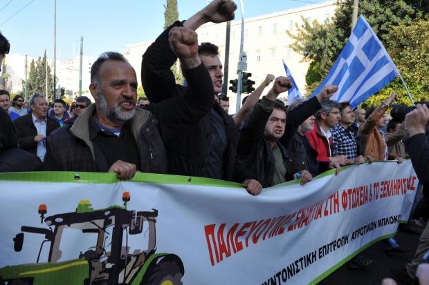 Zaostrza się protest greckich rolników