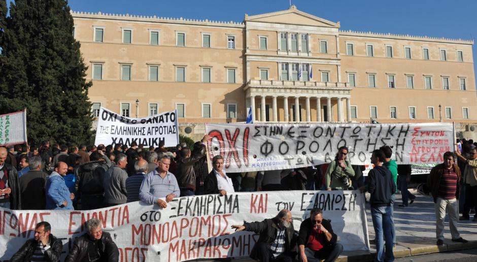 Nietypowe walentynki greckich rolników