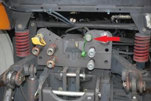 Hydrauliczny układ hamulcowy - to rozwiązanie najczęściej dotyczy to traktorów sprowadzanych z Wielkiej Brytanii oraz Francji