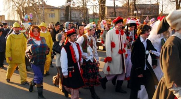 Mazowieckie: Ścięcie Śmierci na zakończenie zapustów w Jedlińsku