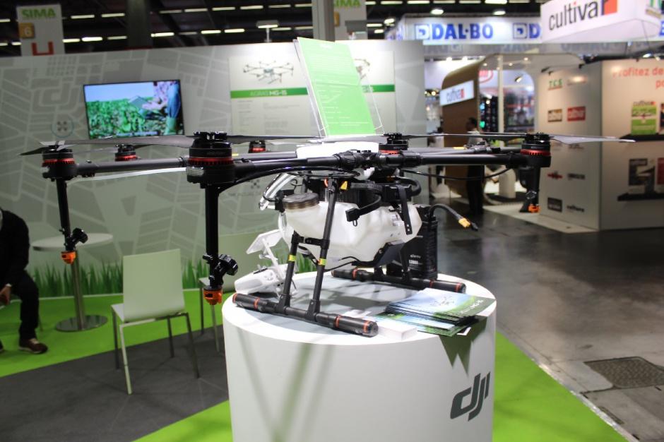 Dron Agras MG-1 produkowany przez firmę DJI, fot. Ł. Głuchowski