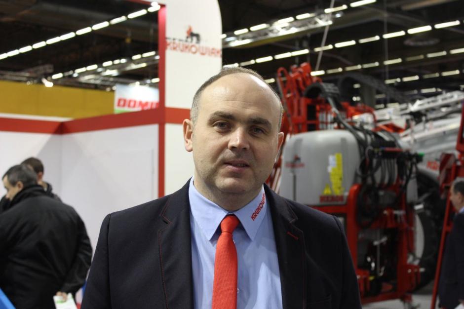 Seweryn Borkowski, prezes KFMR Krukowiak, fot. ług