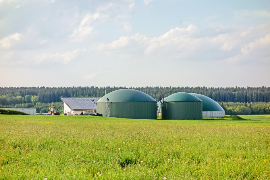 Biogazownia w Niemczech fot. Shutterstock