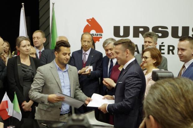 Ursus rośnie w siłę - podpisanie umowy ze spółką algierską