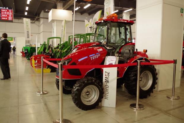 TYM T293ev – elektryczny ciągnik z Korei