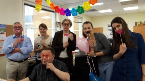 Urodziny jednej z redakcyjnych koleżanek