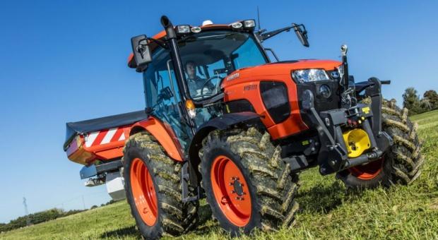 Kubota: Nowa seria M5000 od kwietnia w sprzedaży
