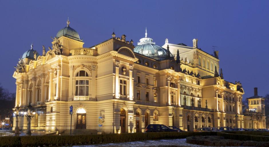 Dwa ule staną na dachu Teatru im. Słowackiego w Krakowie