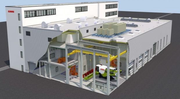 Claas rozpoczyna budowę nowego centrum testowego