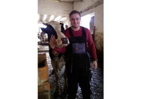 Jakub Kapuściński, specjalista ds. żywienia bydła z firmy Alltech