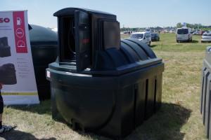 Zbiorniki o pojemności 2500 litrów, to raczej segment mini, aczkolwiek są chętnie wybierane przez rolników z uwagi na cenę fot. GS