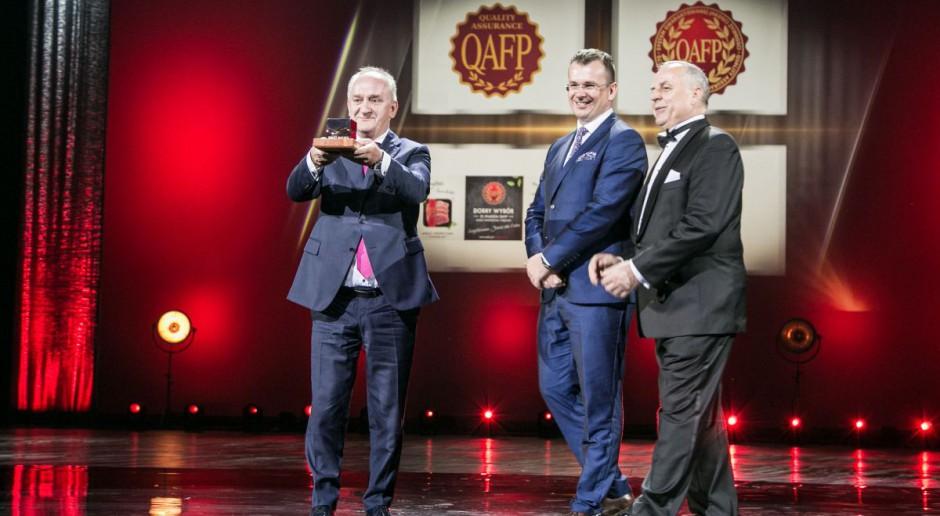 System QAFP wyróżniony honorowym Godłem Teraz Polska