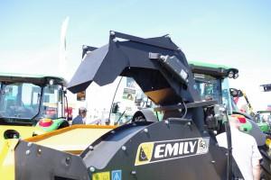 Emily Sigma - ścielarka z napędem hydraulicznym fot. GS