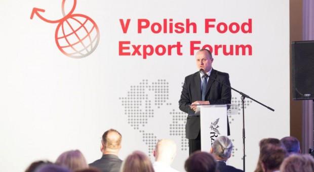 Sochaczewski: Priorytetem jest wsparcie rozwoju innowacyjności polskich firm sektora rolno-spożywczego