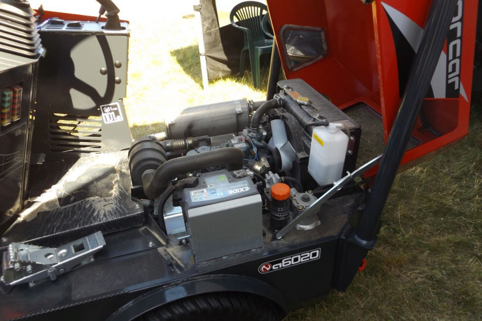 Do napędu maszyn służą silniki Kubota