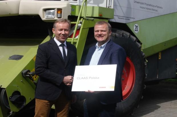 Claas podpisał umowę współpracy z Instytutem Inżynierii Biosystemów UP w Poznaniu