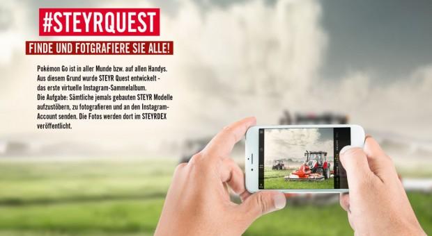 Steyr Quest– wirtualny album ze 140 ciągnikami