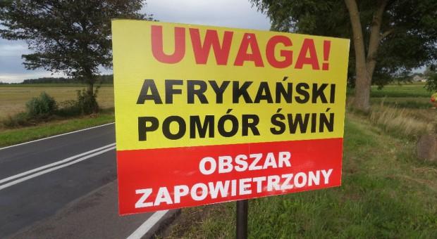 ASF opanowuje kolejne powiaty