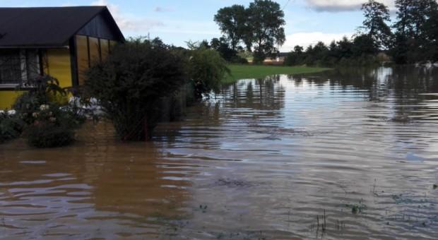 Zachodniopomorskie: Przerwany wał przeciwpowodziowy we wsi Porzecze