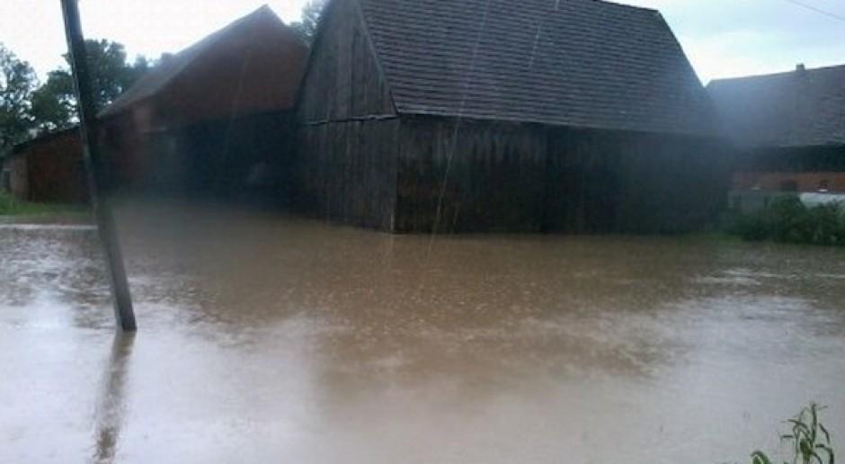 40 gospodarstw podtopionych w gminie Darłowo