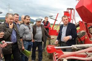 Budowę i sposób działania maszyny omówił Maciej Czajkowski.