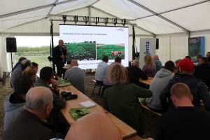 Maciej Skwierz z Sudzuker zaprezentował wyniki doświadczeń odmianowych, prowadzonych przez firmę.