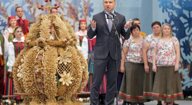 Prezydent: Nigdy polski rolnik nie odmawiał trudu i poświęcenia dla ojczyzny