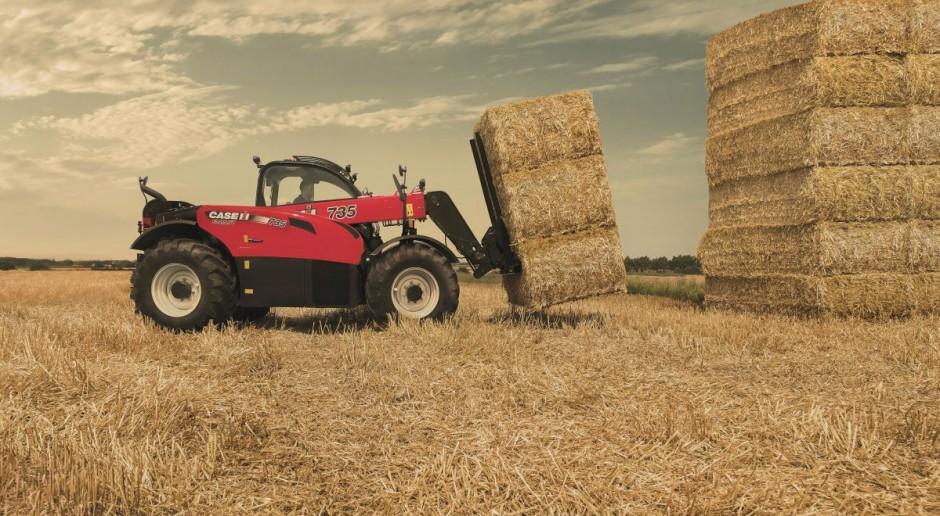 Zmodyfikowane ładowarki Case IH Farmlift