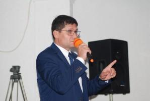 Paweł Niemczuk, główny lekarz weterynarii; 19.09.2017, spotkanie w sprawie ASF w Białej Podlaskiej, fot. kh
