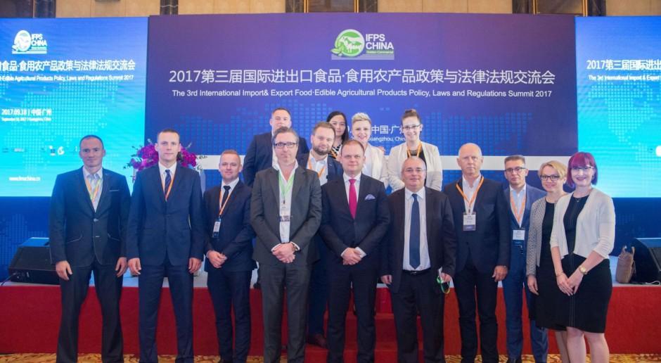KRD - IG i polscy producenci drobiu na targach FMA 2017 w Chinach