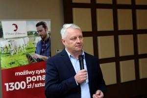 Mariusz Kopeć z firmy Polski Farmer