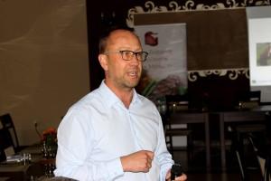 Maciej Ciszewski z firmy Cargill przedstawił podstawy żywienia bydła opasowego