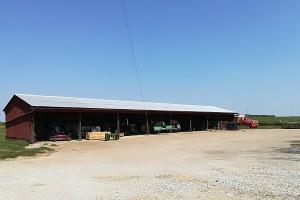 Longley Farm w stanie Illinois; Fot. A. Kobus