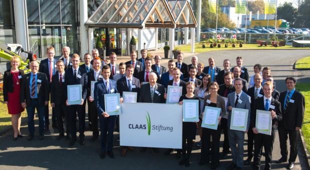 Claas przyznał stypendia w dziedzinie inżynierii rolniczej