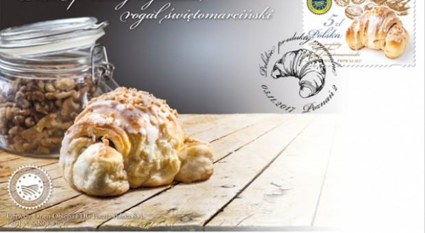 Rogal świętomarciński oficjalnie trafił na znaczki pocztowe