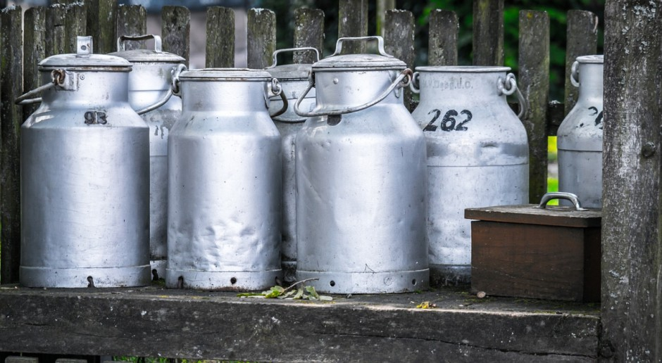 Silny spadek cen produktów mlecznych