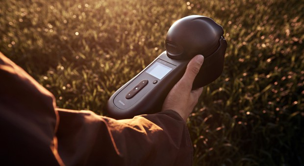 Pierwszy przenośny przyrząd do pomiaru jakości zbóż