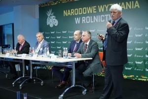 Prof. Marek Korbas podczas swojego wsytąpienia
