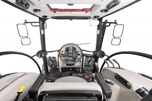 Ciągniki oferować będą komfortową, 4 słupkową kabinę