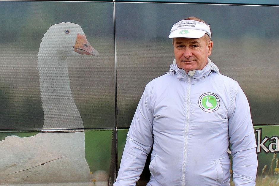 Andrzej Klonecki jest dziś chyba najbardziej znanym hodowcą gęsi w Polsce i propagatorem gęsiny.