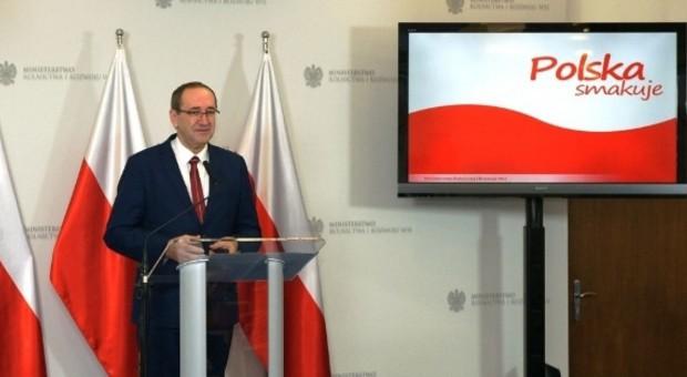 """MRiRW: """"Polska smakuje"""" pod takim szyldem będzie promowana polska żywność"""