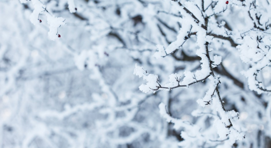 IMGW: Intensywne opady śniegu w siedmiu województwach