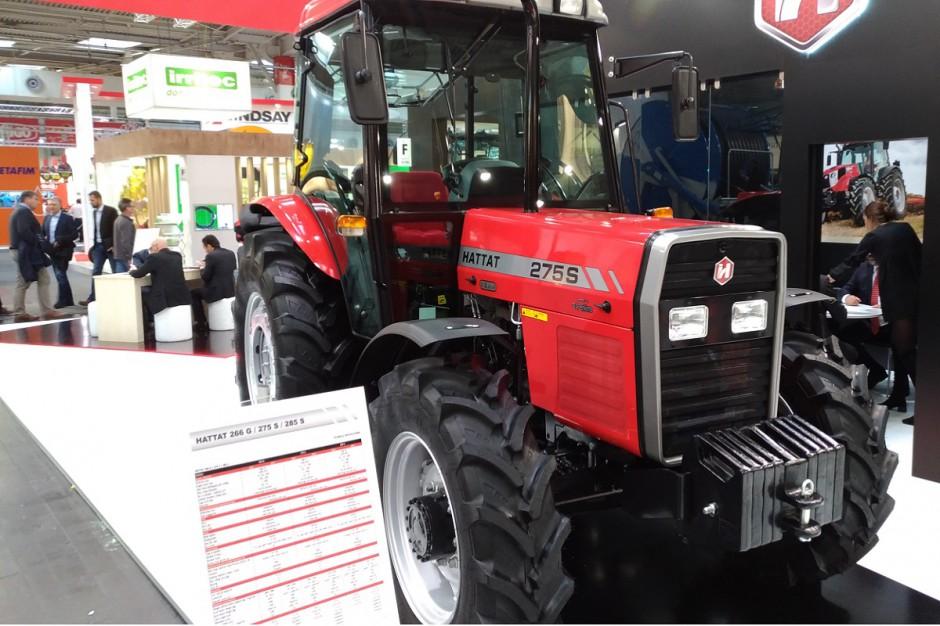 Ekspozycja firmy Hattat Tractör podczas targów Agritechnica 2017 fot. GS