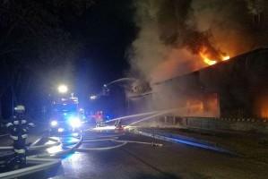 Pożar młyna w Byczynie. Straty na ponad milion złotych