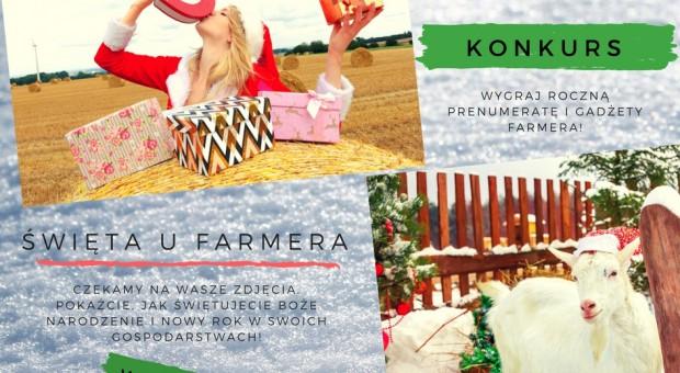 """Rusza zimowy konkurs foto """"Święta u Farmera"""""""