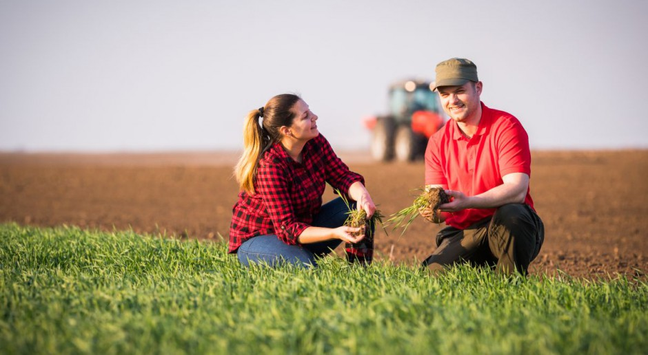 Młodość rolnika też przemija