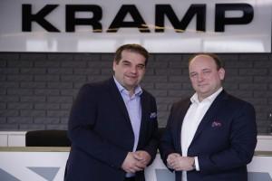 Nowi członkowie Zarządu Kramp – Adam Wroczyński (od lewej) i Marek Rybacki (od prawej); fot. prasowe