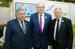 Rozmowy ministra rolnictwa Krzysztofa Jurgiela na targach żywności w Berlinie