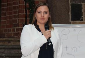 Karolina Wróbel z Instytutu Geodezji i Kartografii poruszyła ciekawy temat wykorzystania danych satelitarnych w rolnictwie.